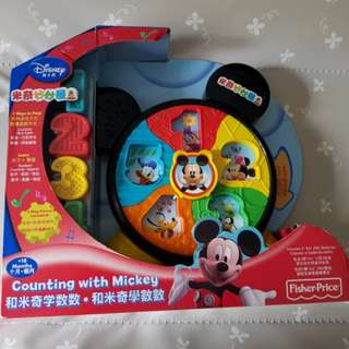 Fisherprice mickey mouse counting toy (sound in mandarin & english)