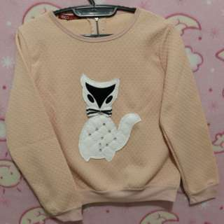 Sweater Pink Cat