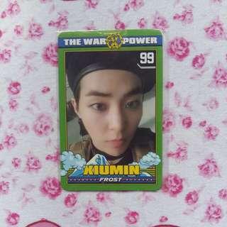 EXO Xiumin Power Official Photocard