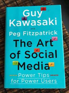 The art of social media Guy Kawasaki