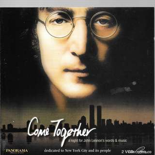 MY PRELOVED   VIDEO  CD - COME TOGETHER - A NIGHT OF JOHN LENNON'S WORDS AND MUSIC  (F3K) /