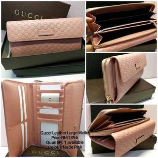 Price Negotiabel!!!Authentic Gucci Wallet!!! 90% New