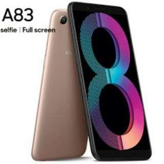 OPPO A83 Full Screen Bisa dikredit cepat mudah hanya 3 MNT Dp 15%