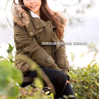 二手好品🍓東大門韓國型格修身長外套