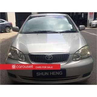 Toyota Corolla Altis 1.6A (COE till 06/2021)