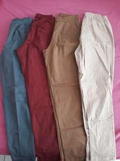 4 Celana Chino Katun