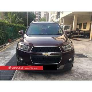 Chevrolet Captiva 2.4A Premium