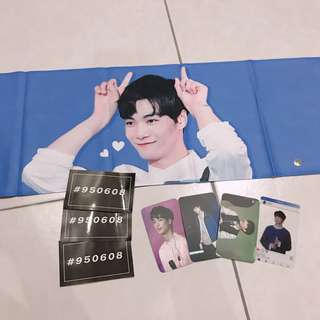 NUEST KIMJONGHYUN JR SLOGAN SET