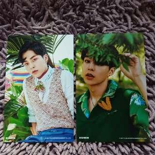 EXO Xiumin The War KoKoBop Official 4x6 Photo