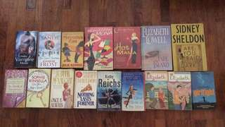Different preloved books on sale