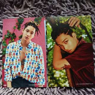 EXO Kai The War KoKoBop Official 4x6 Photo
