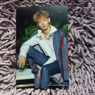 EXO Chen The War KoKoBop Official 4x6 Photo