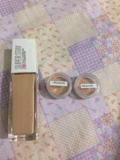 Maybelline SUPERSTAY foundation takal/sample pack