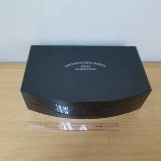 """NAUTISCHE INSTRUMENTE   15 3/4""""鋼琴木錶盒watch box"""