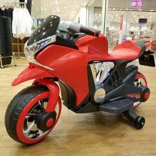 Red Big Bike Rechargeable Ride on Motorcycle Toys