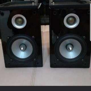 TEAC LS-H225 BOOKSHELF SPEAKERS