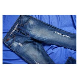 Preloved Celana Jeans Panjang Wrangler Biru