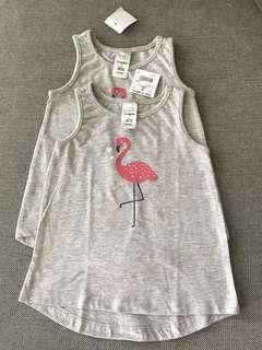 Baby Girl Sleeveless Top T-shirt (12-18 months)