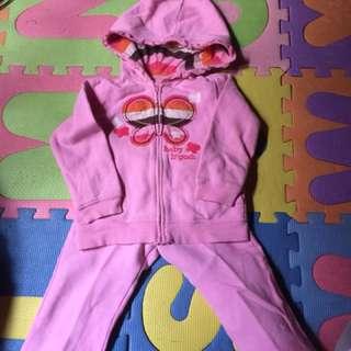 Baby jacket and pants terno / 2-3 years old kasya