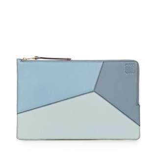 [全新]Loewe Puzzle Flat Pouch (另有wallet)