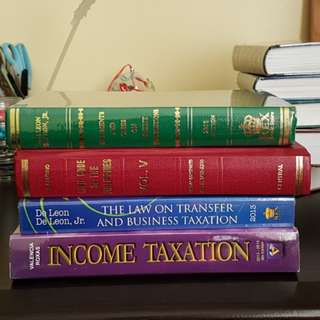Law and Tax books