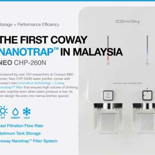 Water purifier coway