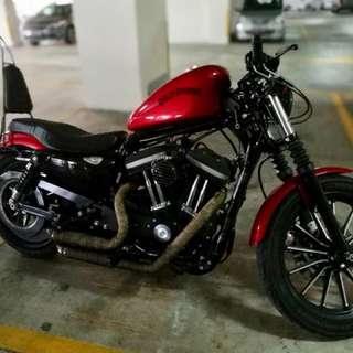 Harley Davidson Iron Red 883