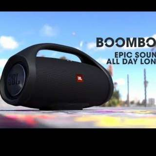 Promotion offer JBL BoomBox Bluetooth speaker
