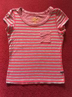 Jagthug reversible stripes polo shirt
