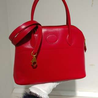Hermes bolide 27 red