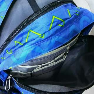 The northface backpack borealis blue