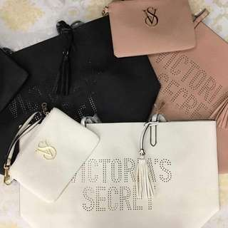 Victorias Secret Tote With Pouch