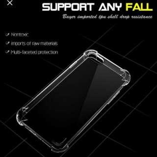 Redmi Xiaomi Note4x Casing Anti Crack Cover Soft Jaket Hp