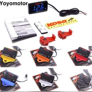 FREE DELIVERY SLIM KOSO VOLTMETER(best selling)👍🏻👍🏻👍🏻