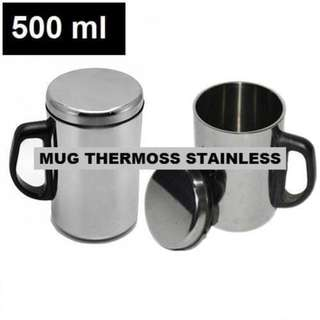 GFELAS MUG THERMOS STAINLES STEEL 500 ML