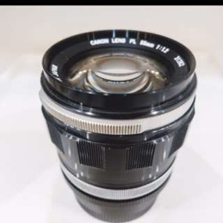 Canon 55mm f1.2 + FD to Sony E-Mount adaptor