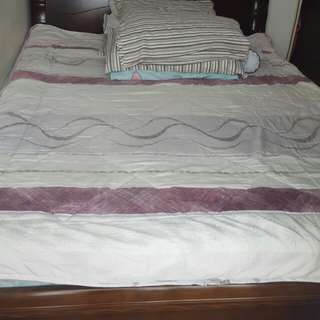 King size bed rack with salem bed