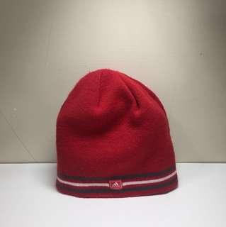 正版愛迪達毛線帽(原價550)