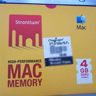 MAC memory(BRAND NEW)-2 numbers