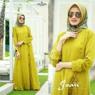 Joan Dress Lemon