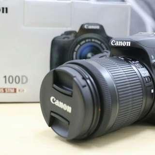 Kredit Kamera Canon 100D paket lengkap