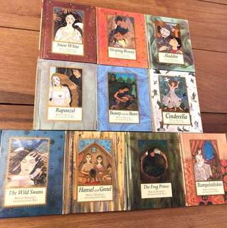 Set of 10 children's vintage classics
