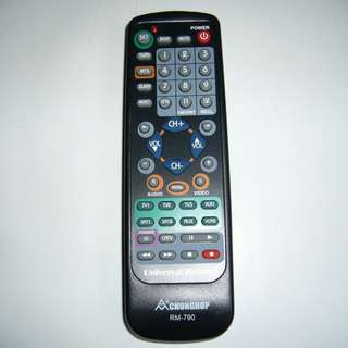 ChungHop 8-in-1 Universal Remote Control 萬能遙控