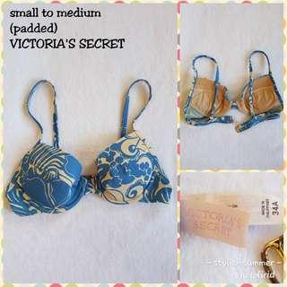 VICTORIA'S SECRET bikini top fits small to medium