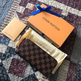LV Wallet Clemence Ready Stock