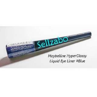 Maybelline Hyperglossy Blue Colour Liquid Eyeliner Sellzabo Eyes Liner Makeup Cosmetics