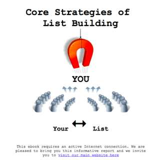 Core Strategies of List Building eBook