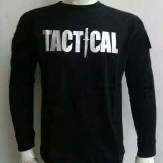 FASHION PRIA KAOS TACTICAL KAOS OLAHRAGA OUTDOOR AIRSOFT