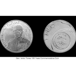 Gen Isidro Torres Commemorative Coin