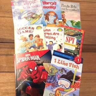 Set of 8 children's titles